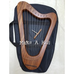 Lyre Harp 10 metal Strings Lyre made with Rosewood