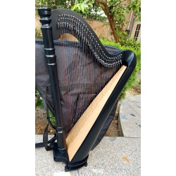 34 Strings harp round pillar