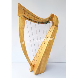 34 STRING LEVER HARP MADE WITH PEACH WOOD