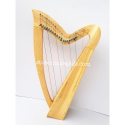 22 STRING LEVER HARP CELTIC HARP MADE WITH PEACH WOOD