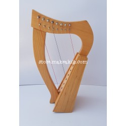 8 STRING CELTIC HARP MADE WITH ROSE WOOD