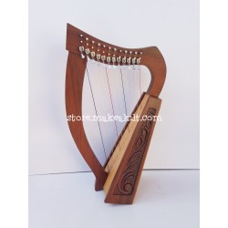12 STRING CELTIC  LEVER HARP IRISH HARP