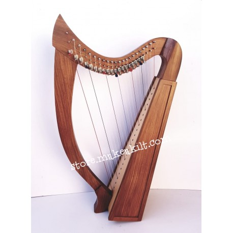 22 STRING CELTIC IRISH HARP MADE BY ROSE WOOD