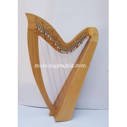 NEW 29 STRING CELTIC IRISH LEVER HARP MADE WITH ASH WOOD