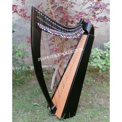 NEW 27 STRING CELTIC IRISH LEVER HARP  WITH FREE SHIPPING