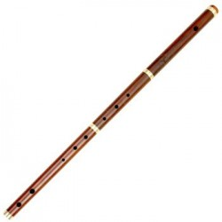 Traditional Irish Flute DD Rose wood With Case