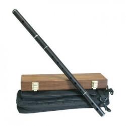 Traditional Keyless Irish Flute Pratton Style Ebony