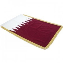 Full Sized Flag: Qatar