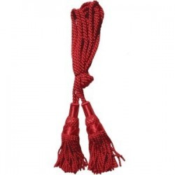 Red Silk Bagpipe Cord