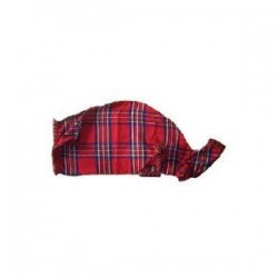 Tartan Bagpipes covers with zip and swan neck