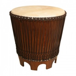 Drum End Table, 24 with Beater""
