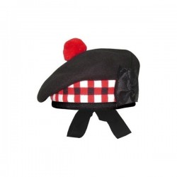 Black Balmoral Hat