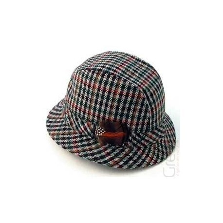 Tweed Trilby Hat - Make A Kilt 938620fdb3e