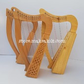 3 Defrint Beautiful 12 String Harp For Sale •New 12  String Celtic  Harp, Made With Seasoned Beech Wood, •Beautiful Designn, Light Weight  HandMade, Pure Treble And Warm Bass. •Comes With carry bag And Tunning Keys Extra String Set. •We Also Deal In Wholesale Buyers  #babyharper #harps #harpist  #music #harpa #harper #lyraheartstrings #arpa #cheapprice #musicinstrument #celticharp #leverharps  #irishharp #folkmusik  #harpmaker #harpplayer #harp #classicalmusician #scottish #harplove  #Irishharp #harpersbazaar #harpoon #celtic #leverharp #folk #string #strings #harpstudent