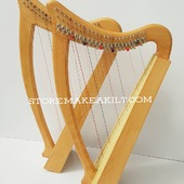 New 23  String Celtic Lever Irish Harp For Sale.  •New 23 String  Lever Harp, Made With Seasoned Beech Wood, •Beautiful Designn, HandMade, Pure Treble And Warm Bass. •Comes With carry bag And Tunning Keys Extra String Set. •We Also Deal Wholesale Buyers •Custom Made Color. •Free Print Company Logo. Email Us: makeakilt@gmail.com     #harpist #harperseven #music #harper #lyraheartstrings #arpa #cheapprice #musicinstrument #celticharp #leverharps  #irishharp #folkmusik #harpmaker #harpplayer #harpa ##classicalmusic #classicalmusician #scottish  #lyre #lyreharp #folkharp #lapharp #harpist  #harp #babyharp #harpstudent #sale #harpmaster #harpteacher #lapharp