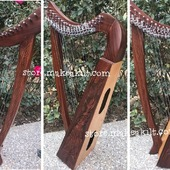 •New 19 String Celtic Lever Harp, Made With Seasoned Roos Wood, •Beautiful Designn, HandMade, Pure Treble And Warm Bass. •Portable And Lightweight, easy to Carry. •Comes With carry bag And Tunning Keys Extra String Set.  #babyharper #harps  #harpist #harperseven #music #harpa #harper #lyraheartstrings #arpa #cheapprice #musicinstrument #celticharp #leverharps  #irishharp #folkmusik #music #harpmaker #harpplayer #harpa ##classicalmusic #classicalmusician #scottish  #lyre #lyreharp  #Irishharp #folkharp #music #harpmaker #harpist #classicalmusic