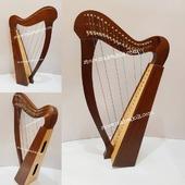 •New 22 String Celtic Lever Harp, Made With Seasoned Roos Wood, •Beautiful Designn, HandMade, Pure Treble And Warm Bass. •Comes With carry bag And Tunning Keys Extra String Set.  #babyharper #harps  #harpist #harperseven #music #harpa #harper #lyraheartstrings #arpa #cheapprice #musicinstrument #celticharp #leverharps  #irishharp #folkmusik #music #harpmaker #harpplayer #harpa ##classicalmusic #classicalmusician #scottish  #lyre #lyreharp  #Irishharp #folkharp #music #harpmaker #harpist #classicalmusic