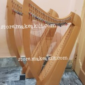 .Christmas Offers  New 26 String Harp For Sale •New 26 String Celtic Lever Harp, Made With Seasoned Beech Wood, •Beautiful Designn, HandMade, Pure Treble And Warm Bass. •Comes With carry bag And Tunning Keys Extra String Set.  #babyharper #harps #harpist #harperseven #music #harpa #harper #lyraheartstrings #arpa #cheapprice #musicinstrument #celticharp #leverharps  #irishharp #folkmusik #music #harpmaker #harpplayer #harpa ##classicalmusic #classicalmusician #scottish  #christmasoffer #christmas  #Irishharp #folkharp #music #harpmaker #harpist #classicalmusic