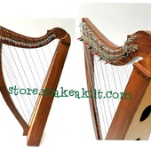 New 34 String Celtic Lever Harp Smart Design, This beautiful and professional Rosewood 34 strings Lever Lap Harp is ideal for all players from the discerning  to the more experienced session musician. The quality materials used ensure a durable yet lightweight body. . •website: store.makeakilt.com •Email Us: sales@makeakilt.com  #harpist  #music #harpa #harper  #lyraheartstrings #arpa #cheapprice #musicinstrument #celticharp #leverharps  #irishharp #folkmusik #music #harpmaker #harpplayer  ##classicalmusic #classicalmusician #scottish  #lyre #lyreharp #folkharp #lapharp #harpist  #harp #babyharp #studentharps #harpforsale #harpmaster #harpteacher