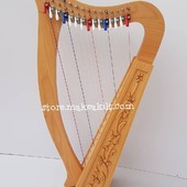 New 15  String Celtic Lever Irish Harp For Sale.  •New 15 String  Lever Harp, Made With Seasoned Roos Wood, •Beautiful Designn, HandMade, Pure Treble And Warm Bass. •Comes With carry bag And Tunning Keys Extra String Set. •We Also Deal Wholesale Buyers •Custom Made Color. •Free Print Company Logo. Email Us: makeakilt@gmail.com  #harpist #harperseven #music #harpa #harper #lyraheartstrings #arpa #cheapprice #musicinstrument #celticharp #leverharps  #irishharp #folkmusik #music #harpmaker #harpplayer #harpa ##classicalmusic #classicalmusician #scottish  #lyre #lyreharp #folkharp #lapharp #harpist  #harp #babyharp #harpstudent #sale #harpmaster #harpteacher