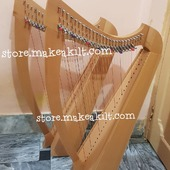.Christmas Offers  New 26 String Harp For Sale •New 26 String Celtic Lever Harp, Made With Seasoned Beech Wood, •Beautiful Designn, HandMade, Pure Treble And Warm Bass. •Comes With carry bag And Tunning Keys Extra String Set.  #babyharper #harps #harpist #harperseven #music #harpa #harper #lyraheartstrings #arpa #cheapprice #musicinstrument #celticharp #leverharps  #irishharp #folkmusik #music #harpmaker #harpplayer #harpa ##classicalmusic #classicalmusician #scottish  #christmasoffer #christmas  #Irishharp #folkharp #music #harpmaker #harpist #classicalmusic