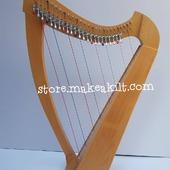 New 26 String Celtic Lever Harp This beautiful design made with Beechewood,  26 strings Lever Harp is ideal for all players from the discerning beginner to the more experienced session musician. The quality materials used ensure a durable yet lightweight body. . •website: store.makeakilt.com •Email Us: sales@makeakilt.com  #harpist  #music #harpa #harper  #lyraheartstrings #arpa #cheapprice #musicinstrument #celticharp #leverharps  #irishharp #folkmusik #music #harpmaker #harpplayer  ##classicalmusic #classicalmusician #scottish  #lyre #lyreharp #folkharp #lapharp #harpist  #harp #babyharp #studentharps #harpforsale #harpmaster #harpteacher