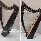 •New 27 String Celtic Lever Harp, Made With Seasoned Beech Wood, •Beautiful Designn, HandMade, Pure Treble And Warm Bass. •Comes With Carry Bag Tunning Keys And Extra String Set.  #babyharper #harps  #harpist #harperseven #music #harpa #harper #lyraheartstrings #arpa #cheapprice #musicinstrument #celticharp #leverharps  #irishharp #folkmusik #music #harpmaker #harpplayer #harpa ##classicalmusic #classicalmusician #scottish  #lyre #lyreharp  #Irishharp #folkharp #music #harpmaker #harpist #classicalmusic