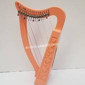 New 15 String Celtic Lever Irish Harp For Sale.  •New 15 String  Lever Harp, Made With Seasoned Beech Wood, •Beautiful Designn, HandMade, Pure Treble And Warm Bass. •Comes With carry bag And Tunning Keys Extra String Set. •We Also Deal Wholesale Buyers •Custom Made Color. •Free Print Company Logo. Email Us: makeakilt@gmail.com     #harpist #harperseven #music #harper #lyraheartstrings #arpa #cheapprice #musicinstrument #celticharp #leverharps  #irishharp #folkmusik #harpmaker #harpplayer #harpa ##classicalmusic #classicalmusician #scottish  #lyre #lyreharp #folkharp #lapharp #harpist  #harp #babyharp #harpstudent #sale #harpmaster #harpteacher #lapharp