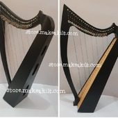 •New 27 String Celtic Lever Harp, Made With Seasoned Beech Wood, •Beautiful Designn, HandMade, Pure Treble And Warm Bass. •Comes With Carry Bag Tunning Keys And Extra String Set.  #babyharper #harps  #harpist #harperseven #music #harpa #harper #lyraheartstrings #arpa #cheapprice #musicinstrument #celticharp #leverharps  #irishharp #folkmusik #music #harpmaker #harpplayer #harpa ##classicalmusic #classicalmusician #scottish  #lyre #lyreharp  #Irishharp #folkharp #music #harpmaker #harpist #classicalmusic