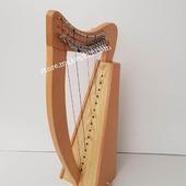 New 15  String Lever Harp For Sale •New 15 String Matle Lever Harp, Made With Seasoned Beech Wood, •Beautiful Designn, HandMade, Pure Treble And Warm Bass. •Comes With carry bag And Tunning Keys Extra String Set.  #harpist #harperseven #music #harpa #harper #lyraheartstrings #arpa #cheapprice #musicinstrument #celticharp #leverharps  #irishharp #folkmusik #music #harpmaker #harpplayer #harpa ##classicalmusic #classicalmusician #scottish  #lyre #lyreharp #folkharp #lapharp #harpist  #harp #babyharp #harpstudent #sale #harpmaster #harpteacher