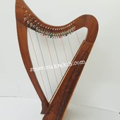 New 22  String Celtic Lever Irish Harp For Sale. •New 22 String  Lever Harp, Made With Seasoned Rose Wood, •Beautiful Designn, HandMade, Pure Treble And Warm Bass. •Comes With carry bag And Tunning Keys Extra String Set. •We Also Deal Wholesale Buyers •Custom Made Color. •Free Print Company Logo. Email Us: makeakilt@gmail.com  #harpist #harperseven #music #harpa #harper #lyraheartstrings #arpa #cheapprice #musicinstrument #celticharp #leverharps  #irishharp #folkmusik #music #harpmaker #harpplayer #harpa ##classicalmusic #classicalmusician #scottish  #lyre #lyreharp #folkharp #lapharp #harpist  #harp #babyharp #harpstudent #sale #harpmaster #harpteacher