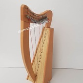 New 15  String Lever Harp For Sale •New 15 String Matle Lever Harp, Made With Seasoned Beech Wood, •Beautiful Designn, HandMade, Pure Treble And Warm Bass. •Comes With carry bag And Tunning Keys Extra String Set.  #harpist #harperseven #music #harpa #harper #lyraheartstrings #arpa #cheapprice #musicinstrument #celticharp #leverharps  #irishharp #folkmusik #music #harpmaker #harpplayer #harpa ##classicalmusic #classicalmusician #scottish  #lyre #lyreharp #folkharp #lapharp #harpist  #harp #babyharp #harpstudent #sale #harpmaster #harpteacher