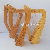 3 Defrint Beautiful 12 String Harp For Sale •New 12  String Celtic  Harp, Made With Seasoned Beech Wood, •Beautiful Designn, Light Weight  HandMade, Pure Treble And Warm Bass. •Comes With carry bag And Tunning Keys Extra String Set. •We Also Deal In Wholesale Buyers  #babyharper #harps #harpist  #music #harpa #harper #lyraheartstrings #arpa #cheapprice #musicinstrument #celticharp #leverharps  #irishharp #folkmusik  #harpmaker #harpplayer #harp #classicalmusician #scottish #harplove  #Irishharp #harpersbazaar #harpoon #celtic #leverharp #folk #string #strings #harpstudent
