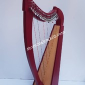 New 22  String Celtic Lever Irish Harp For Sale.  •New 22 String  Lever Harp, Made With Seasoned Beech Wood, •Beautiful Designn, HandMade, Pure Treble And Warm Bass. •Comes With carry bag And Tunning Keys Extra String Set. •We Also Deal Wholesale Buyers •Custom Made Color. •Free Print Company Logo. Email Us: makeakilt@gmail.com  #harpist #harperseven #music #harpa #harper #lyraheartstrings #arpa #cheapprice #musicinstrument #celticharp #leverharps  #irishharp #folkmusik #music #harpmaker #harpplayer #harpa ##classicalmusic #classicalmusician #scottish  #lyre #lyreharp #folkharp #lapharp #harpist  #harp #babyharp #harpstudent #sale #harpmaster #harpteacher
